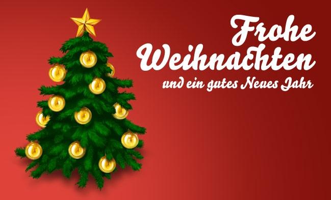 Frohe Weihnachten Und Ein.Frohe Weihnachten Und Neues Jahr Wunsche